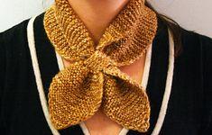 Ravelry: Knitted Neck Scarf by Martha Stewart Design Team
