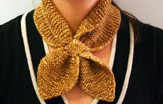Ravelry: Knitted Neck Scarf by Martha Stewart Design Team