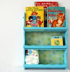 vintage shelf upcycled by Happy Day Vintage