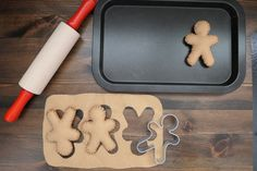 Felt Gingerbreadman Cookies