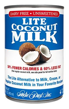 Andre Prost Lite Coconut Milk 135 Ounce Cans Pack of 12 ** More info could be found at the image url. (This is an affiliate link) Shrimp Coconut Milk, Coconut Milk Powder, Gourmet Recipes, Dog Food Recipes, Organic Coconut Cream, Milk Alternatives, Unsweetened Coconut Milk, Hot Cocoa Mixes, Banana Coconut