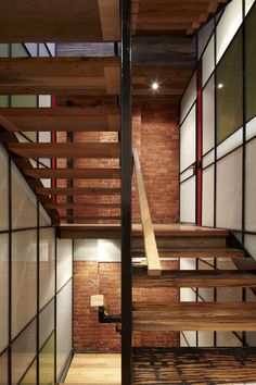 Warehouse Conversion Design Ideas, Pictures, Remodel and Decor Warehouse Home, Warehouse Design, Warehouse Conversion, Floating Staircase, Loft Studio, Industrial Loft, Home Reno, Stairways, Decoration