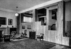 Adolf Loos, Villa Muller, 1928-1930, Prague