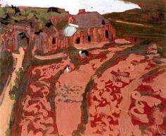Edouard Vuillard, Breton Landscape, Saint-Jacut on ArtStack #edouard-vuillard #art