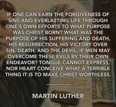 calvin quote for Reformation Day - Yahoo Image Search Results Reformation Day, Protestant Reformation, Martin Luther Quotes, 5 Solas, Grace Alone, Reformed Theology, Covenant Theology, Soli Deo Gloria, Everlasting Life