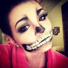 Top Make-up Maps for Halloween   Hair and Make Up   Pinterest ...