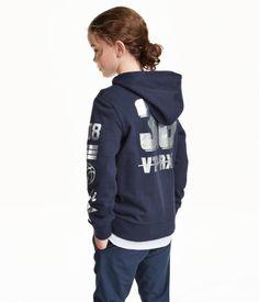 Hoodiejacke | Dunkelblau | Kids | H&M DE