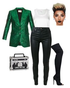 """Untitled #1782"" by stylesbynickey ❤ liked on Polyvore featuring Brunello Cucinelli, Gucci, 7 For All Mankind and Effy Jewelry"