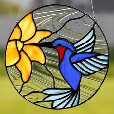 Stained glass hummingbird suncatcher, stain glass humming bird ornament on Etsy . - Glasses - Stained glass hummingbird suncatcher, stain glass humming bird ornament on Etsy … – - Stained Glass Suncatchers, Stained Glass Flowers, Stained Glass Crafts, Faux Stained Glass, Stained Glass Lamps, Stained Glass Designs, Stained Glass Panels, Stained Glass Patterns, Fused Glass