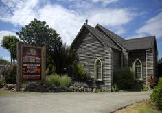 The Church, Hahei, New Zealand. Amazing food and great accommodation.