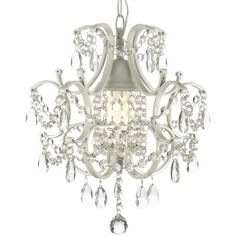 Harrison Lane Versailles 1 Light Crystal Chandelier & Reviews | Wayfair