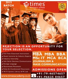 Hurry Up!! Admission open for BCA 2015 at Times Business School Ahemdabad