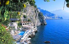 Amalfi - The Santa Caterina is the most romantic spot you'll ever visit.