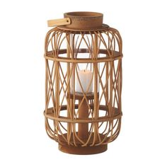 Transform your home into a beachside retreat with the Pomaikai Rattan Lantern. Caged with intricately twisten rattan, all it needs is a votive candle to bring a warm glow to your space. Have a few to a...  Find the Pomaikai Rattan Lantern, as seen in the The Bohemian Manifesto Collection at http://dotandbo.com/collections/the-bohemian-manifesto?utm_source=pinterest&utm_medium=organic&db_sku=CBK0083