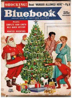 Mid-century Christmas, December 1953 Bluebook Magazine
