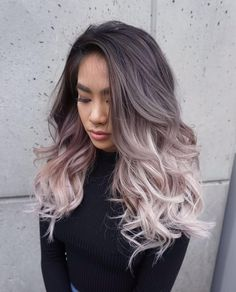 Here are 60 blonde ombre hair styles for a fun new look! If you want to change y. - Here are 60 blonde ombre hair styles for a fun new look! If you want to change your look without sa - Ash Blonde Ombre Hair, Ombre Hair Color, Purple Ombre, Ash Ombre, Asian Ombre Hair, Hair Colour, Ashy Blonde, Hair Color For Asian, Brown Blonde