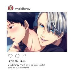Yuri and Victor | Yuri!! On ice