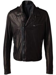 lanvin / leather biker jacket