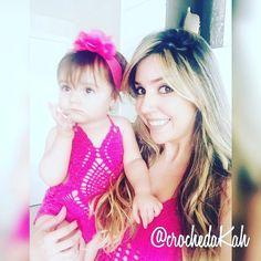 tal mãe... tal filha  #body #bodydecroche #handmade #feitoamão #crochet #crochê #crochetlove #instalike #instacrochet #fashion #fashionkids #talmaetalfilha #beautiful #like4like #crochedakah by crochedakah