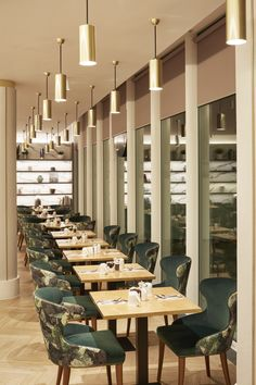Our bespoke lighting perfectly complementing this Art Deco inspired hotel restaurant in London's Angel Islington.