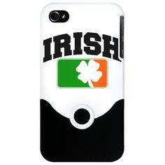 Irish Flag Shamrock iPhone Case