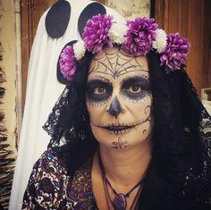 #Happy #Halloween #Catrina #fiesta #DiadelosMuertos #terror #party #weekend #makeup #calavera