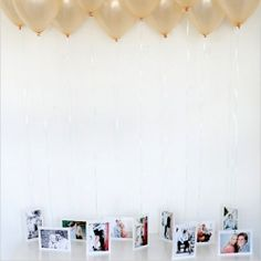 Balloons make the atmosphere romantic and cutie, let's make a beautiful decoration for your wedding of them.
