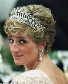 Diana in the piece at a state event in 1990...