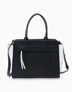 Structured bag with flap - Bags Bags, Fashion, Shopping, Totes, Handbags, Moda, Fashion Styles, Fashion Illustrations, Bag