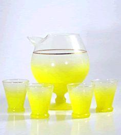 vintage cocktail set