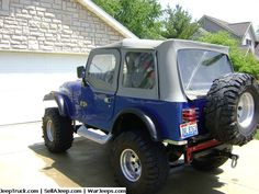 Jeeps For Sale and Jeep Parts For Sale - Awesome Jeep CJ7