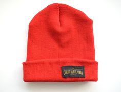 Gorro rojo lana