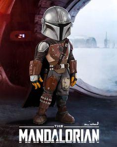 The Mandalorian, Michael Hartmann Jango Fett Boba Fett, Star Wars 1313, Mandalorian Cosplay, Star Wars Images, Star Wars Fan Art, Cartoon Jokes, Star Wars Humor, Cultura Pop, Cute Disney