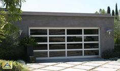 Mini Pergolas And Glass Garage Door For The Home