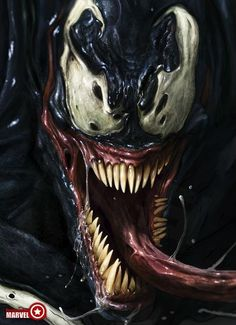 Venom, my first end super villain that I didn't hate for beating up a super hero