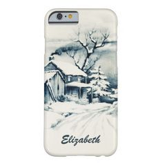 Vintage Christmas Country Phone Case