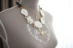 maisons du monde sewing mannequin Shopkei Gold Hamsa Necklace // Lauren Elan Turquoise Stone Necklace // Gorjana Aurora Necklace | blasfemmes