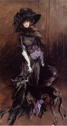 La marquesa Luisa Casati (1881-1957) - Giovanni Boldini