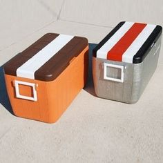 Paint your team color on your cooler | 39 Clever Tailgating DIYs To Get You In The Spirit