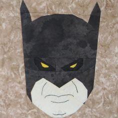 Super Hero Sunday: Batman pattern. (There are SO MANY blocks at Fandom In Stitches)