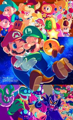 Mario Y Luigi, Super Mario And Luigi, Super Mario Games, Super Mario Art, Super Mario Brothers, Super Mario World, Mundo Super Mario, Donkey Kong, Mario Fan Art