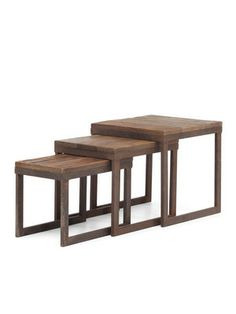 Buy the Zuo Modern 98121 Distressed Natural Direct. Shop for the Zuo Modern 98121 Distressed Natural Civic Center Fir Nesting Tables and save. End Table Sets, Sofa End Tables, Coffee Tables, Occasional Tables, Wood Tables, Bedside Tables, Living Room Furniture, Home Furniture, Modern Furniture