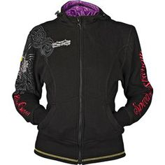 Speed And Strength Killer Queen Women's Armored Hoody - Chaparral Motorsports great for rides to and from work