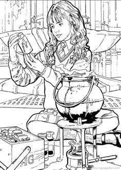 Harry Potter Coloring Pages 29