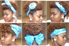Cute Scarf Updos for Natural Hair! | Curly Nikki | Natural Hair Care