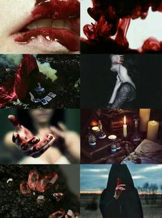 Blood witch aesthetic