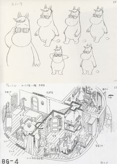 Found a bunch of Moomin model sheets and stuff on an auction site Moomin House, Moomin Valley, Tove Jansson, Cartoon Shows, Imagines, Drawing Reference, Beautiful Babies, Creative Art, Art Inspo
