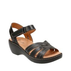 fd7932c6090 Delana Varro Black Leather womens-collection Navy Shoes