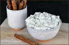 Dill Pickle Dip | Very Culinary #glutenfree