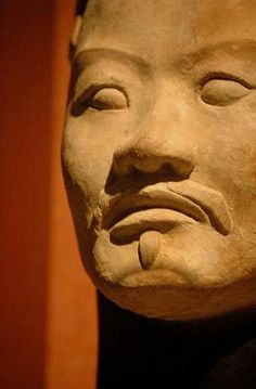 Terracotta restored statue of military figure. ~ Archaeology Daily News – Largest Collection of Ancient Artifacts to Leave China